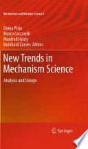New Trends in Mechanism Science