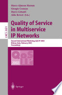 Quality Of Service In Multiservice Ip Networks Book PDF