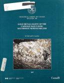 Gold Metallogeny Of The Cape Ray Fault Zone  Southwestern Newfoundland
