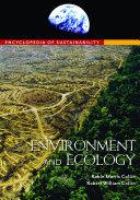 Encyclopedia of Sustainability  3 volumes