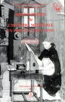 Bibliographie de l'histoire médiévale en France (1965-1990)