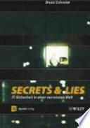 Secrets & lies  : IT-Sicherheit in einer vernetzten Welt