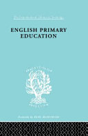 English Primary Education