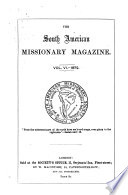 The South American Missionary Magazine Afterw Magazine Of The South American Missionary Society Afterw S A M S At Work Afterw Sams Afterw Sent Ed By W W Kirby