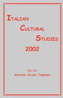 Italian Cultural Studies 2002