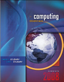 Cover of Computing Essentials 2008, Complete Edition