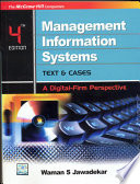 Mgmt Info Sys: Text & Cases