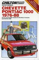 Chevette Pontiac 1000 1976-88 ebook