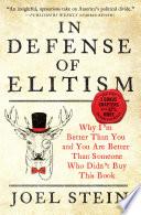 In Defense of Elitism Book