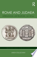 Rome and Judaea  : International Law Relations, 162-100 BCE