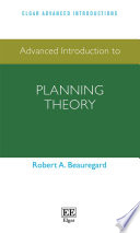 Advanced Introduction to Planning Theory Book