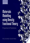 Materials Modelling Using Density Functional Theory Book PDF