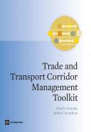 Trade and Transport Corridor Management Toolkit Pdf/ePub eBook