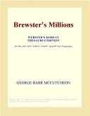 Download Brewster's Millions (Webster's Korean Thesaurus Edition) Book