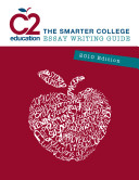 C2 Education The Smarter College Essay Writing Guide 2010 Edition