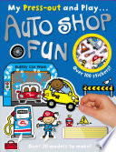 Press-Out and Play Autoshop Fun