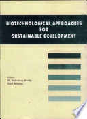 Biotechnological Approaches For Sustainable Development Book PDF