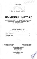 Senate Final History