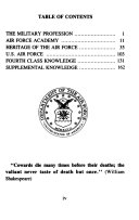 Contrails, the Air Force Cadet Handbook