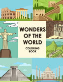 Wonders Of The World Coloring Book Book