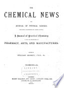 The Chemical News and Journal of Industrial Science Book