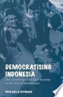 Democratising Indonesia