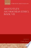 Aristotle s Nicomachean Ethics  Book VII