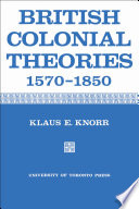 British Colonial Theories 1570 1850
