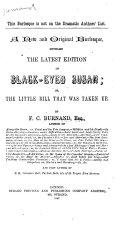 The Latest Edition of Black-eyed Susan; Or, The Little Bill that was Taken Up ebook