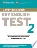 Cambridge Key English Test 2. Self Study. Student's Book. New Edition