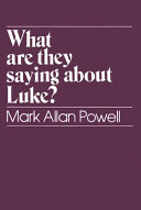 What are They Saying about Luke? Pdf/ePub eBook