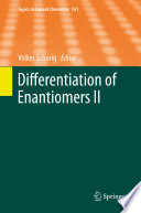 Differentiation of Enantiomers II Book
