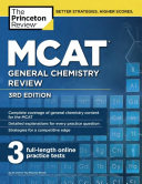 MCAT General Chemistry Review  3rd Edition Book
