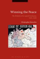 Winning the Peace Book