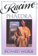 Pdf Phaedra, by Racine Telecharger
