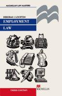 Employment Law [Pdf/ePub] eBook