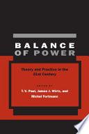 Balance Of Power PDF