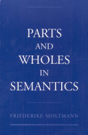 Parts and Wholes in Semantics