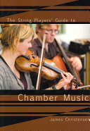 The String Players  Guide to Chamber Music Book