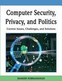 Computer Security, Privacy, and Politics [Pdf/ePub] eBook