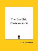 The Buddhic Consciousness