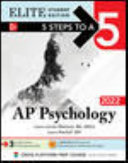 5 Steps to a 5  AP Psychology 2022 Elite Student Edition