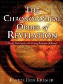 The Chronological Order of Revelation