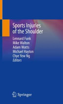 Sports Injuries Of The Shoulder Book PDF