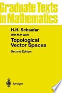 Topological Vector Spaces