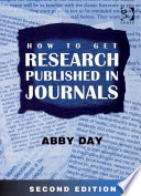 How to Get Research Published in Journals
