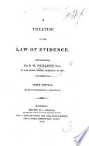 A Treatise On The Law Of Evidence Etc