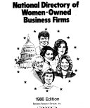 National Directory of Women-owned Business Firms