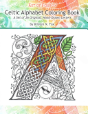 Celtic Alphabet Coloring Book