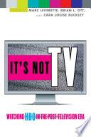 It s Not TV